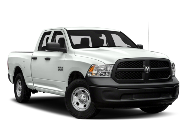 NEW 2017 RAM 1500 EXPRESS QUAD CAB 4X4 6'4 BOX