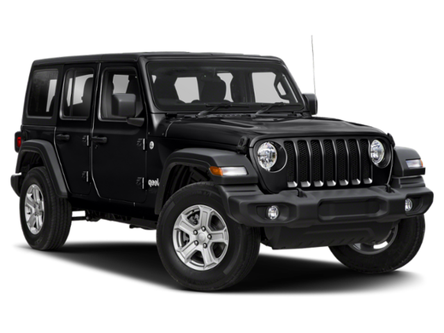 New 2019 Jeep Wrangler Unlimited Sport 4x4, Tech Package, Black Hard Top