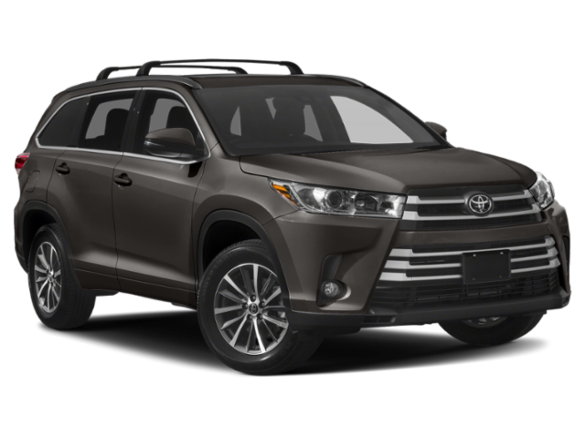 New 2019 Toyota Highlander XLE V6 AWD (Natl)
