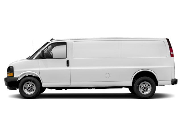 New 2020 GMC Savana Cargo Van