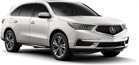 New 2017 Acura MDX SH AWD with Technology and Entertainment Packages