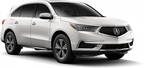 New 2017 Acura MDX Base Front Wheel Drive SUV