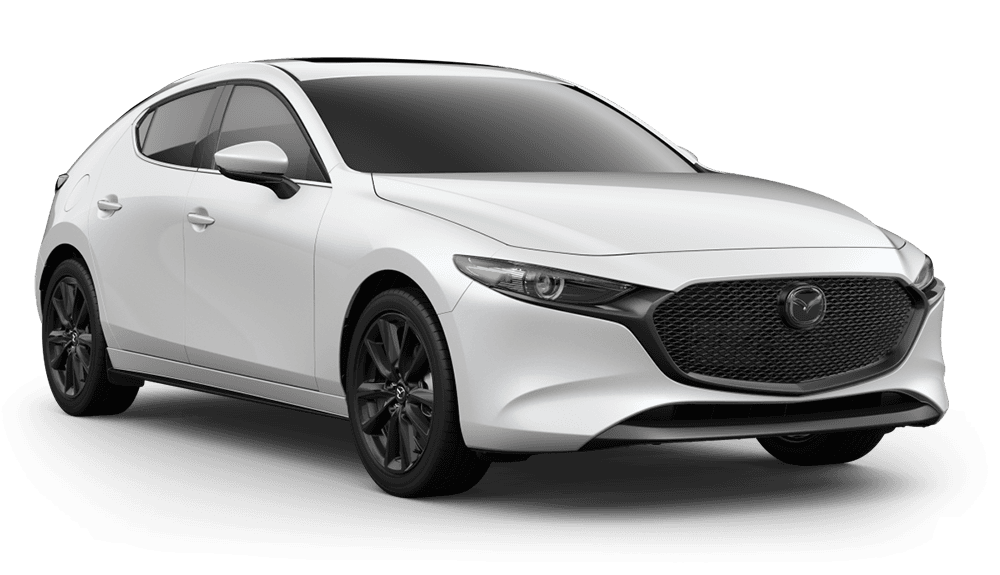 New 2019 Mazda3 Hatchback w/Premium Pkg Front Wheel Drive Hatchback