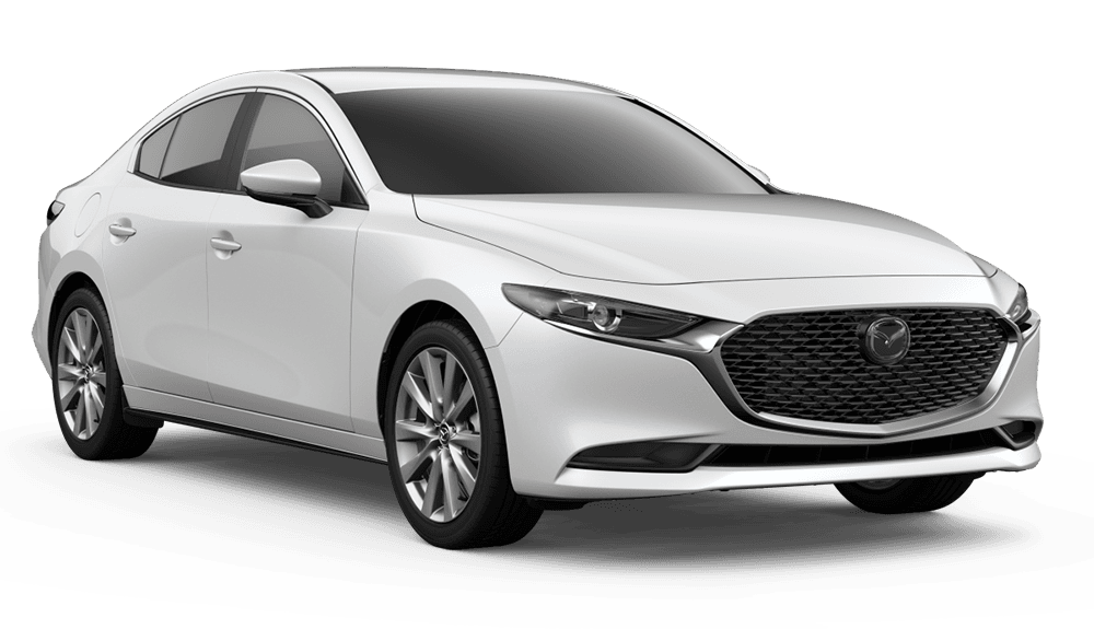 New 2019 Mazda3 Sedan w/Preferred Pkg Front Wheel Drive Sedan