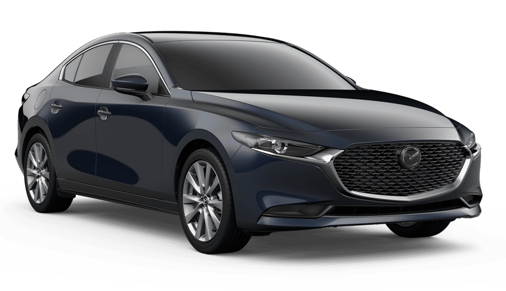 New 2020 Mazda3 AWD w/Preferred Pkg