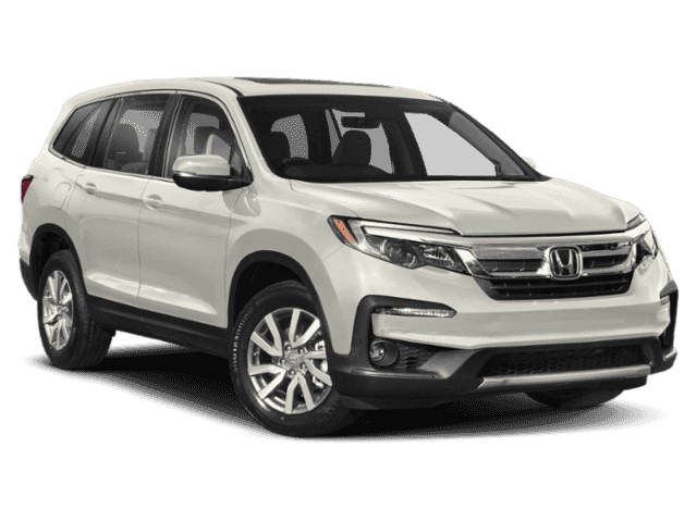 New 2019 Honda Pilot EX-L w/Navigation and Rear Entertainment System with Navigation & AWD