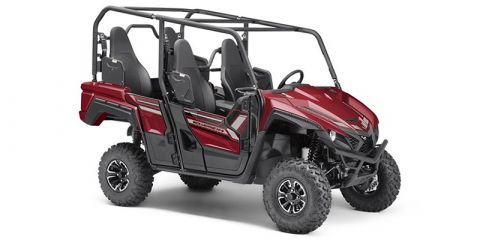 New 2019 Yamaha Wolverine X4 Ridge Red Side by Side