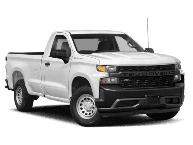 New 2019 Chevrolet Silverado 1500 Work Truck Regular Cab