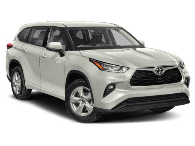 New 2021 Toyota Highlander Hybrid STD