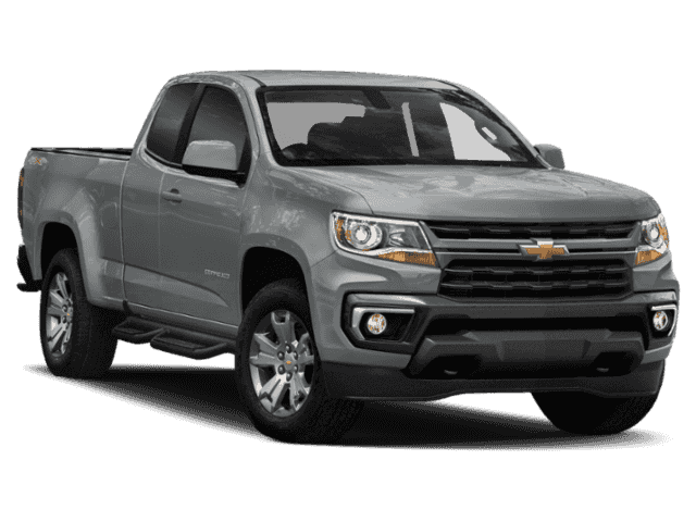 New 2021 Chevrolet Colorado 4WD Ext Cab 128 Work Truck
