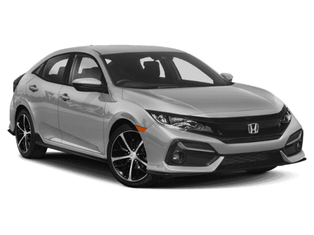 New 2020 Honda Civic Sport FWD 4D Hatchback
