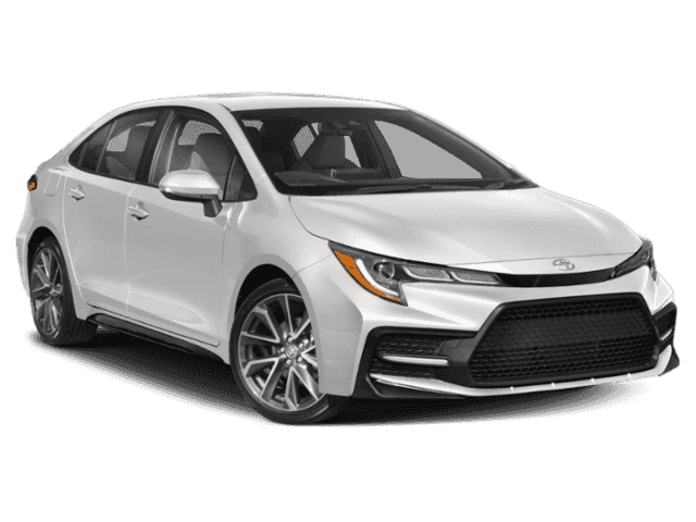 New 2020 TOYOTA Corolla 4Dr. Sedan SE
