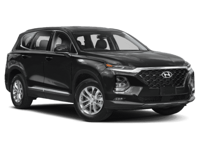 New 2019 Hyundai Santa Fe 2.4L Essential w/Safety & Dk Chrome