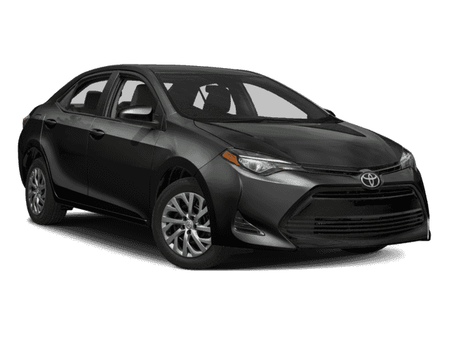 New 2017 Toyota Corolla LE 4dr Car