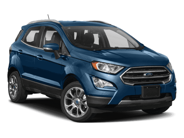 New 2018 Ford Ecosport S Fwd