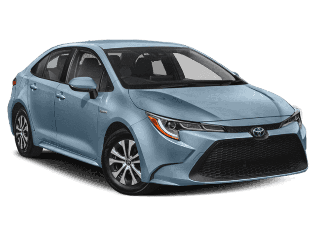 New 2020 Toyota Corolla Hybrid Le 4dr Car In Orlando 0180603