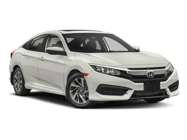 New 2018 Honda Civic Sedan EX Front Wheel Drive Sedan