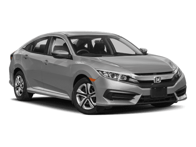 New 2018 Honda Civic Sedan LX Front Wheel Drive Sedan