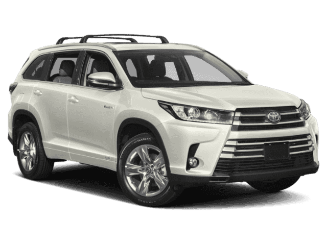 New 2019 Toyota Highlander Hybrid Hybrid Limited V6 AWD
