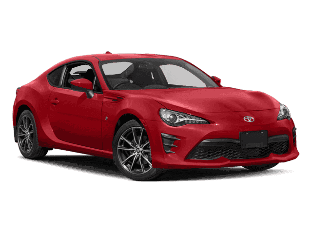 New 2018 Toyota 86 GT w/Black Accents