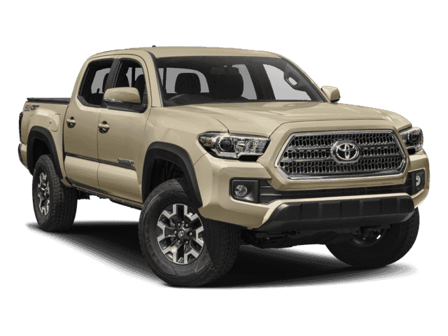 New 2018 Toyota Tacoma Trd Off Road Double Cab 5 Bed V6 4x4 Mt