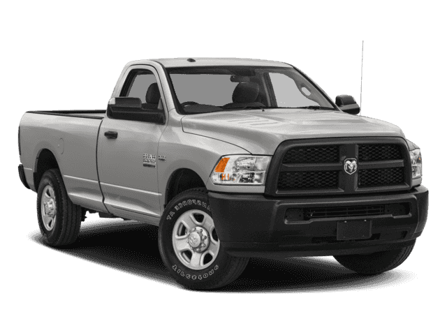 New 2018 RAM 2500 Tradesman 4x4 Reg Cab 8' Box
