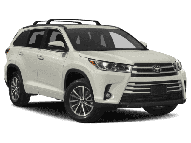 New 2019 Toyota Highlander XLE With Navigation