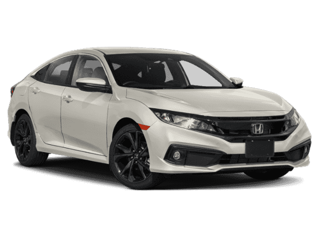 New 2020 Honda Civic Sport CVT