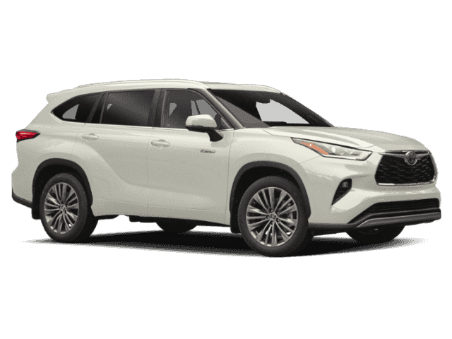 New 2020 Toyota Highlander Hybrid Platinum AWD