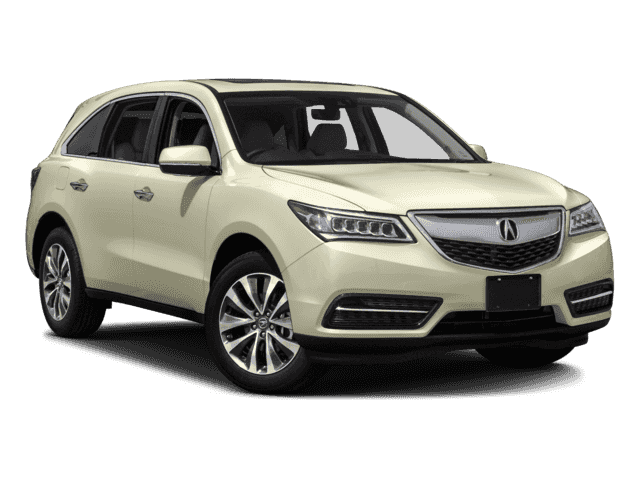 New 2016 Acura MDX w/Tech