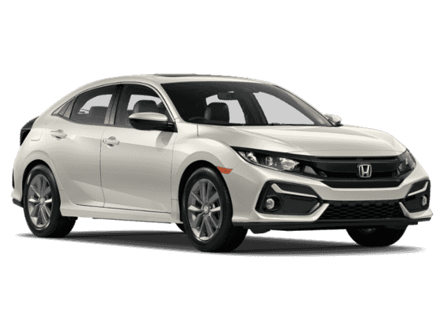 New 2020 Honda Civic EX-L FWD 4D Hatchback