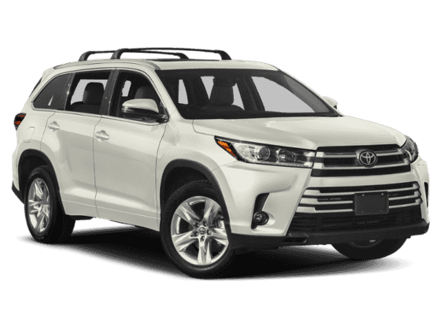 New 2019 Toyota Highlander Limited Platinum Sport Utility In