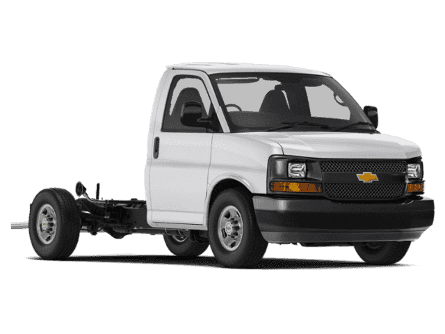 New 2018 Chevrolet Express Commercial Cutaway