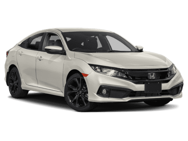 New 2019 Honda Civic Sedan Sport FWD 4dr Car