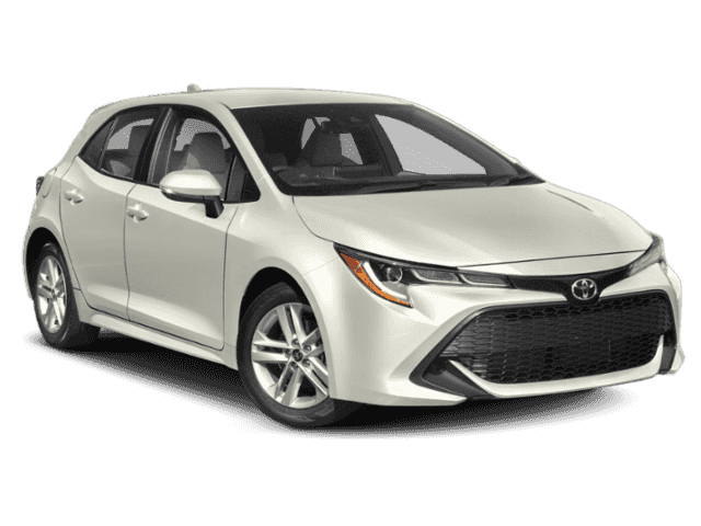 New 2019 Toyota Corolla Hatchback Xse Hatchback In Culver City