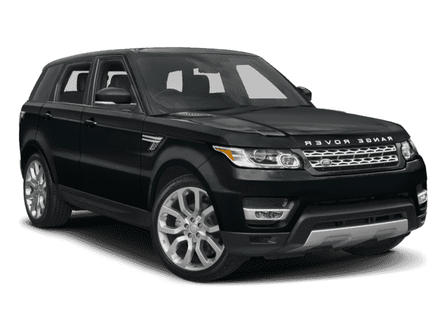 Luxury 2017 Black Range Rover Sport