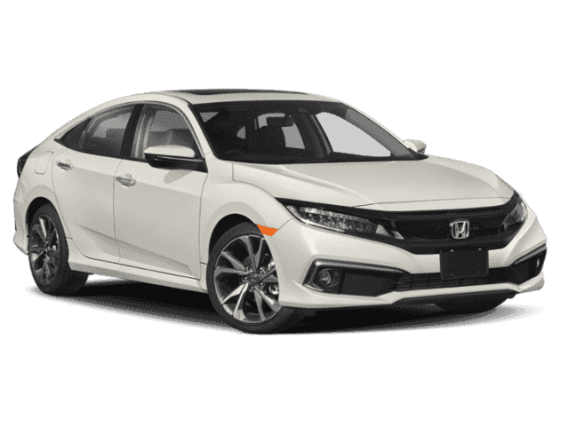 New 2020 Honda Civic Touring FWD 4D Sedan