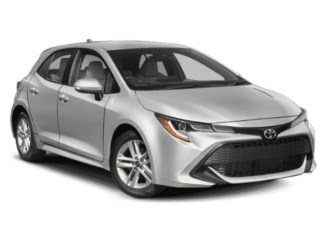 New 2019 Toyota Corolla Hatchback Silver Xse 5d Hatchback For