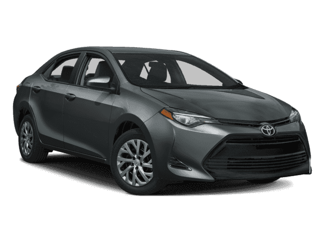 New 2017 Toyota Corolla LE FWD Sedan