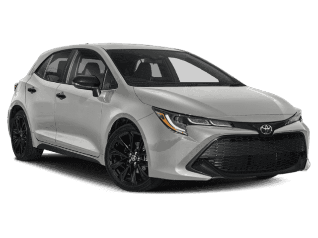 New 2020 Toyota Corolla Hatchback Nightshade