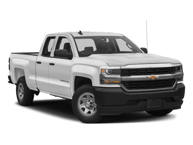 New 2018 Chevrolet Silverado 1500 WT 4WD Double Cab