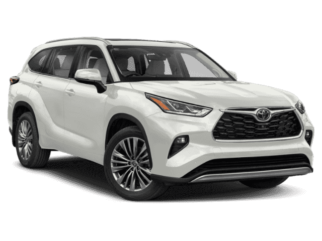 New 2020 Toyota Highlander Platinum Awd With Navigation Awd