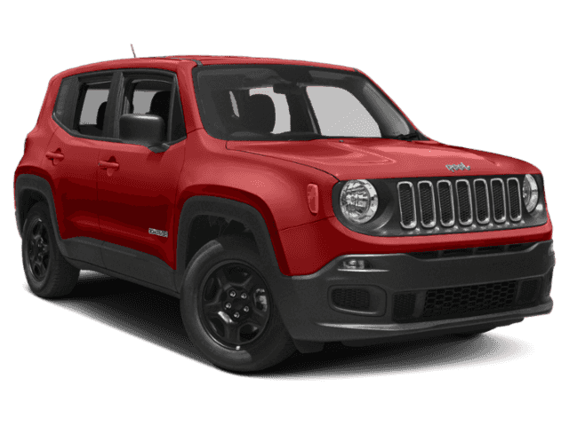 New 2018 JEEP Renegade 4d SUV 4WD Latitude