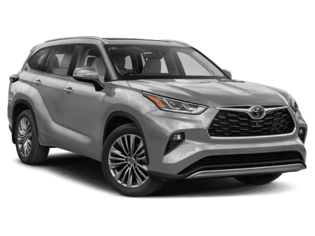 New 2020 Toyota Highlander Platinum 4 door