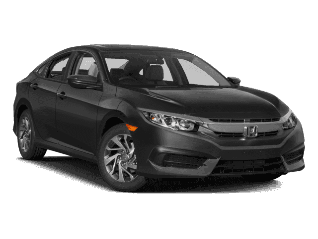 New Honda Civic 4dr CVT EX