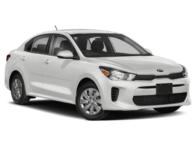 New 2020 Kia Rio S FWD 4D Sedan