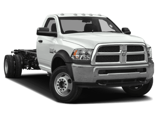 New 2018 RAM 3500 Chassis Cab Regular Cab 2WD DRW