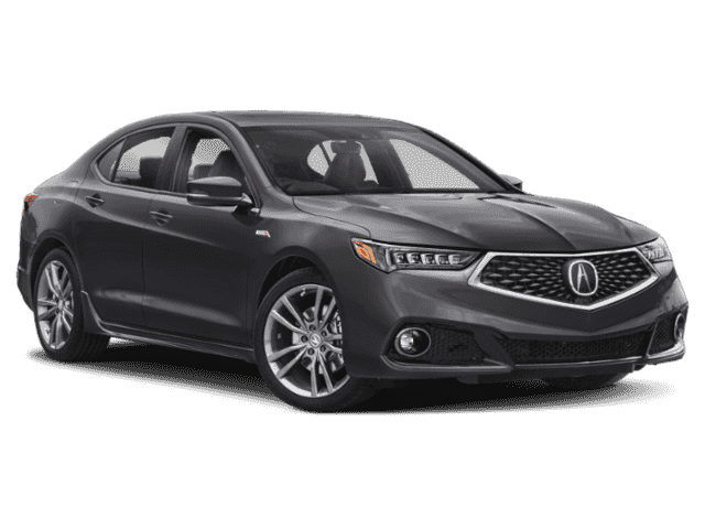 New 2019 Acura TLX w/A-SPEC Pkg Red Leather