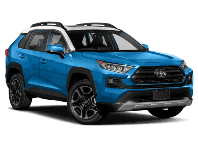 New 2020 Toyota RAV4 TRD Off Road 4dr All-wheel Drive AWD Sport Utility