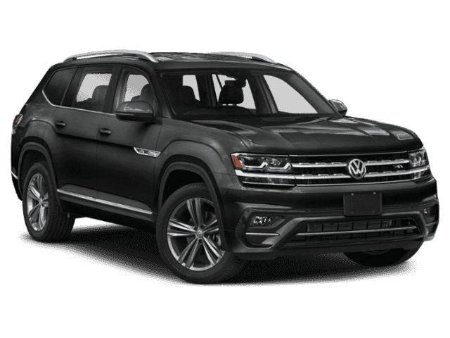 New 2019 Volkswagen Atlas 3.6L V6 SEL R-Line and 4Motion